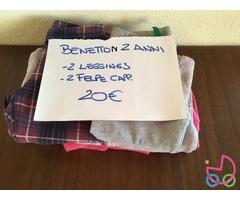 Benetton 2 anni (4 euro al pezzo)